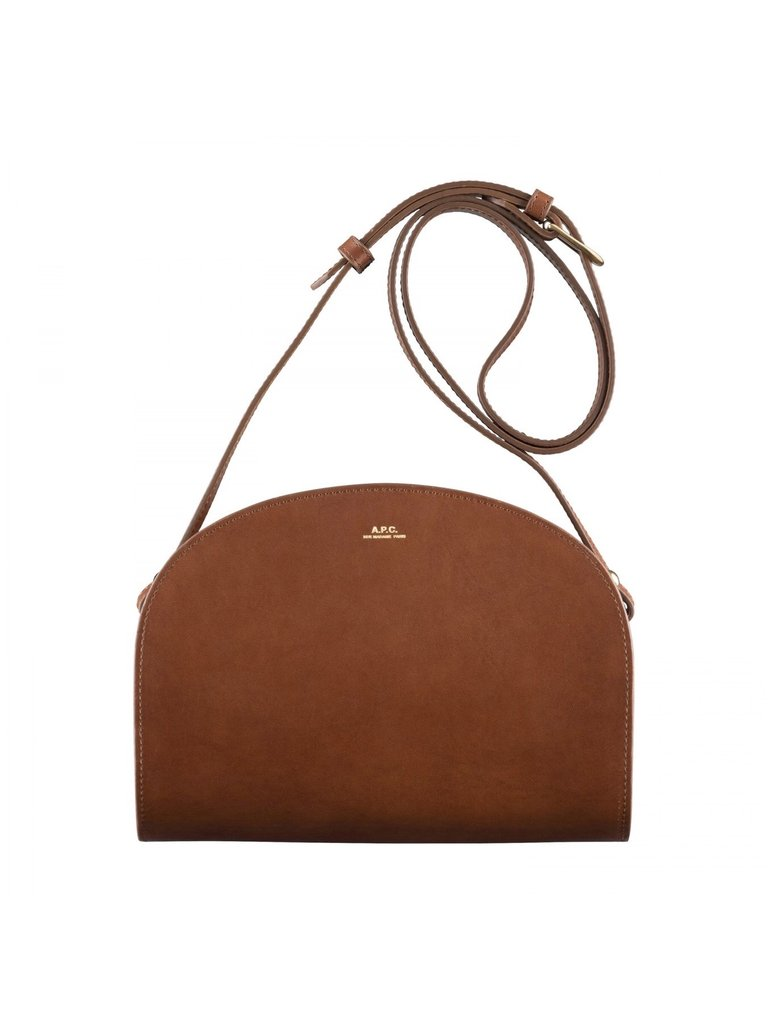Half-Moon Bag Noisette - ensemble