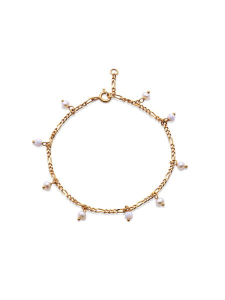 Lula White Bracelent - ensemble