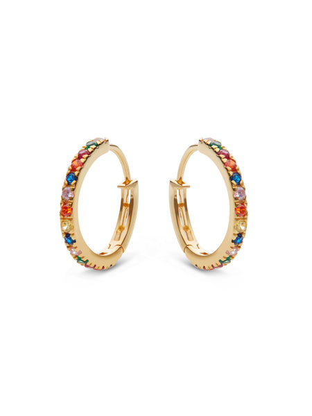 Nubia Big Color Earrings - ensemble