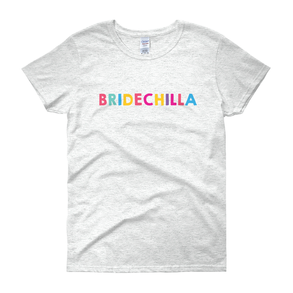 Women's Bridechilla short sleeve t-shirt