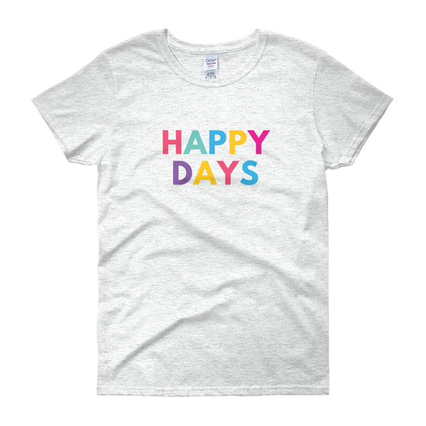 Happy Days Women's short sleeve t-shirt