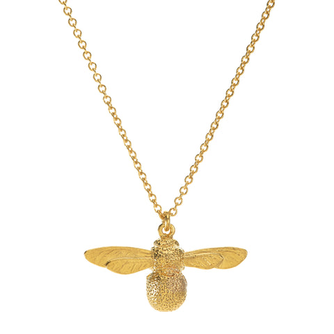 baby bee necklace gold - Portobello Lane