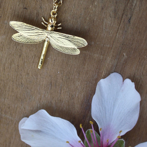 dragonfly necklace - Portobello Lane