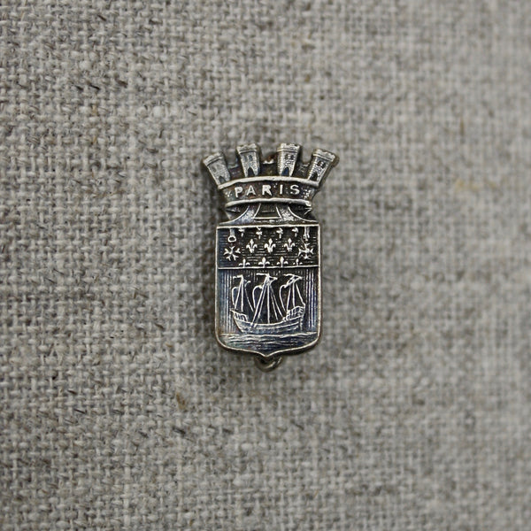vintage Paris coat of arms brooch - nous deux & the Cat - Portobello Lane