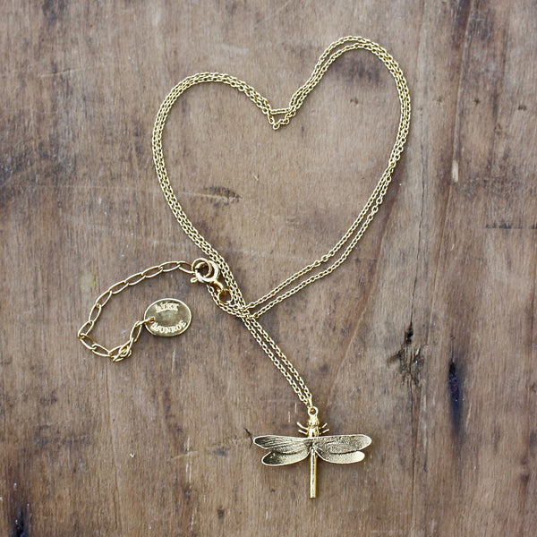 dragonfly necklace - Alex Monroe - Portobello Lane