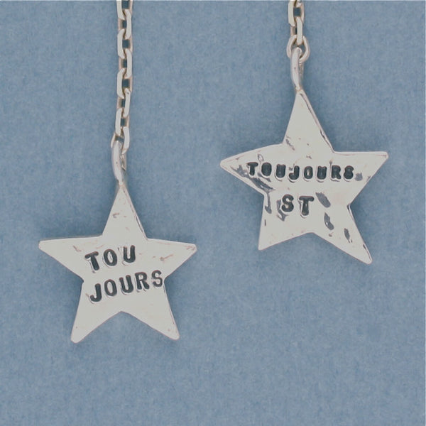 toujours star earrings