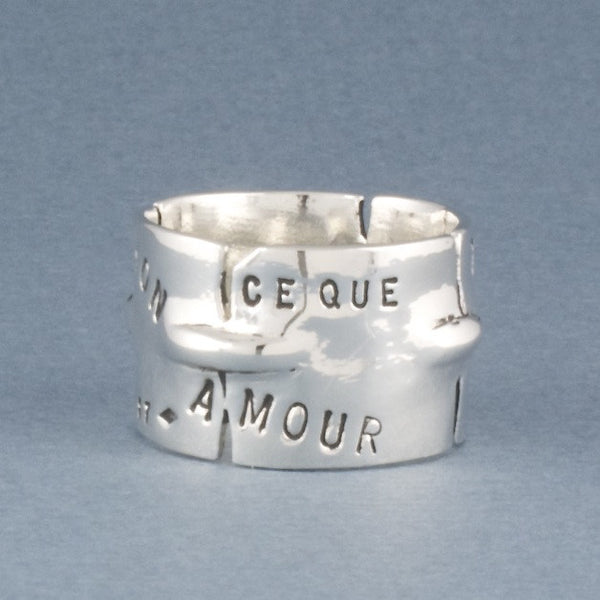 fragments love letter ring - Serge Thoraval - Portobello Lane