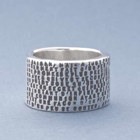 a kiss ring, two verse