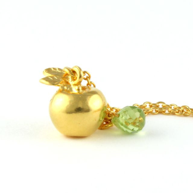 apple necklace. apple necklace alex monroe portobello lane