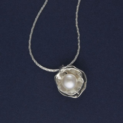 silver & pearl necklace - Lior - Portobello Lane