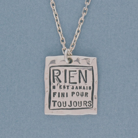 rien necklace - Serge Thoraval - Portobello Lane