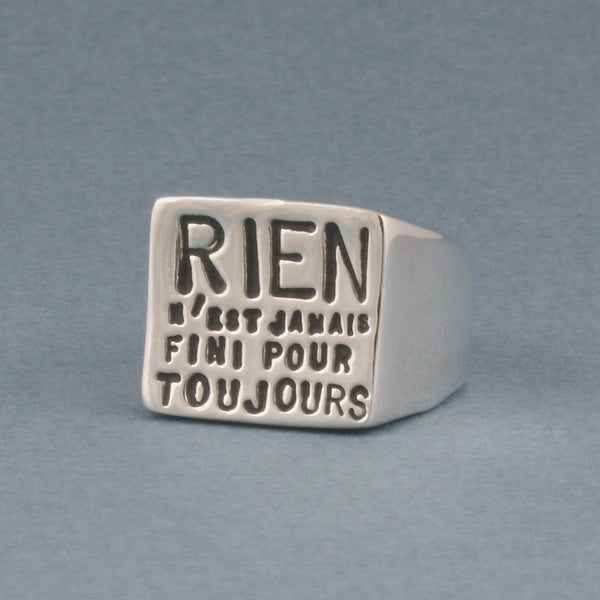 rien ring - Serge Thoraval - Portobello Lane
