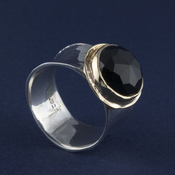 onyx ring - Ithil Metalworks - Portobello Lane