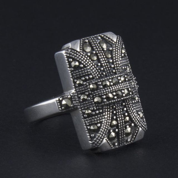art deco ring classic - Belle Artes - Portobello Lane