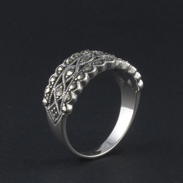 marcasite ring edwardian - Portobello Lane