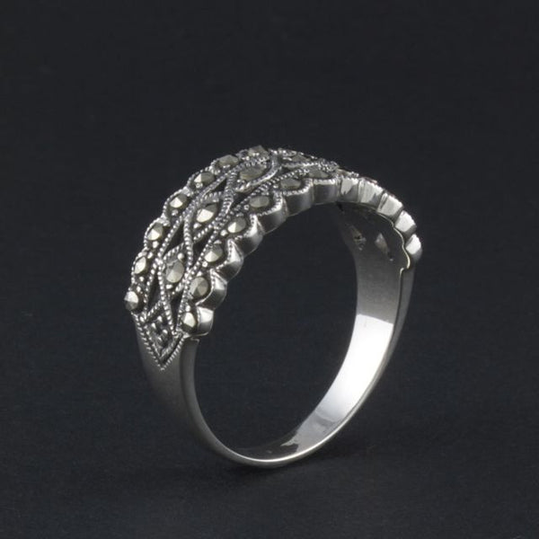 marcasite ring edwardian - Belle Artes - Portobello Lane