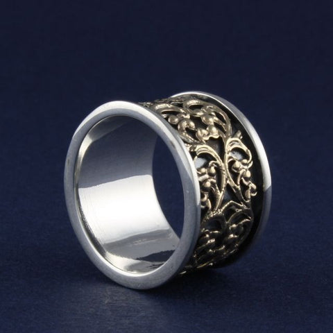 gold filigree ring - Ithil Metalworks - Portobello Lane