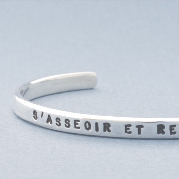 sit and look at sky bracelet ouvert petit - Serge Thoraval - Portobello Lane