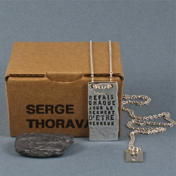 happiness, le serment necklace - Serge Thoraval - Portobello Lane