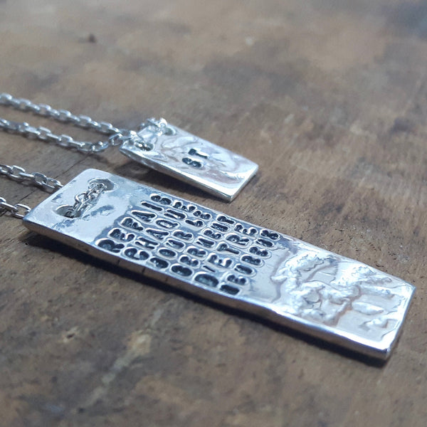 happiness, le serment necklace fine - Portobello Lane