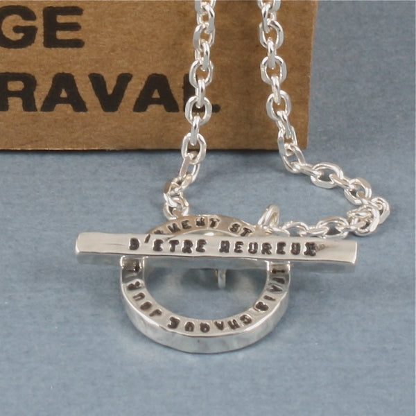 happiness, le serment necklace bascule - Serge Thoraval - Portobello Lane