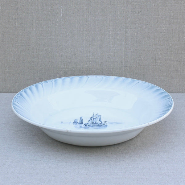 antique French bowl, Orchies Nord France - Portobello Lane