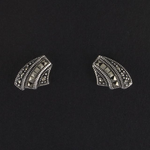 art deco stud earrings - Belle Artes - Portobello Lane