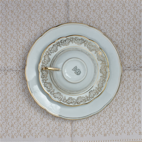 vintage french tea for two set - Rococo - Portobello Lane - Portobello Lane