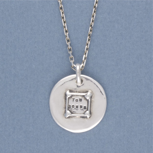 toujours medal necklace - Serge Thoraval - Portobello Lane