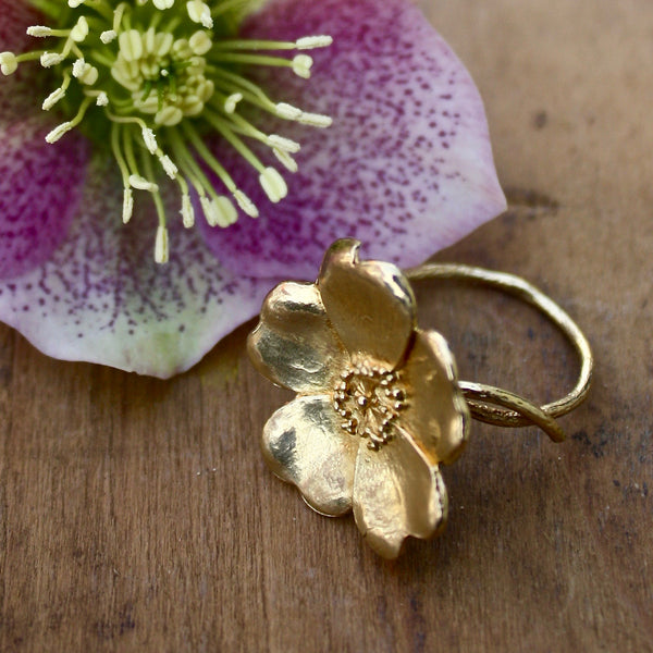 wild rose ring - Alex Monroe - Portobello Lane