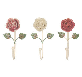 Ceramic Flower Hook