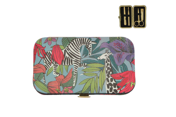 Blue Safari Manicure Set