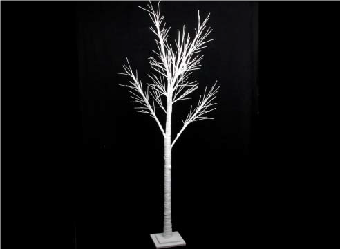 White Spiky Twig Tree - 200cm