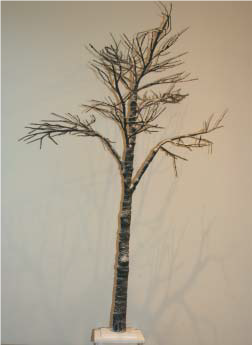 Snow Covered Spiky Twig Tree - 200cm