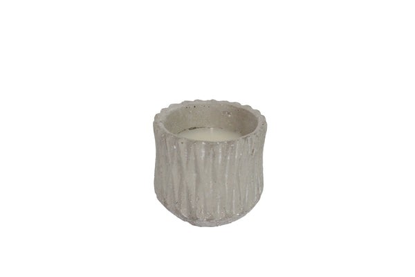 Concrete Citronella Candle Pot