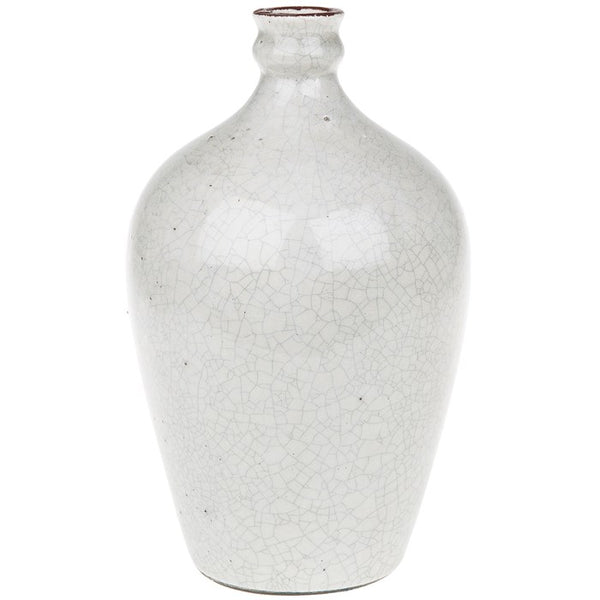 Cottage Glaze Vase Cream