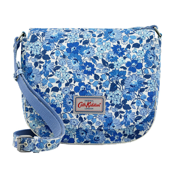 Cath Kidston Welham Flowers Curved Saddle Bag