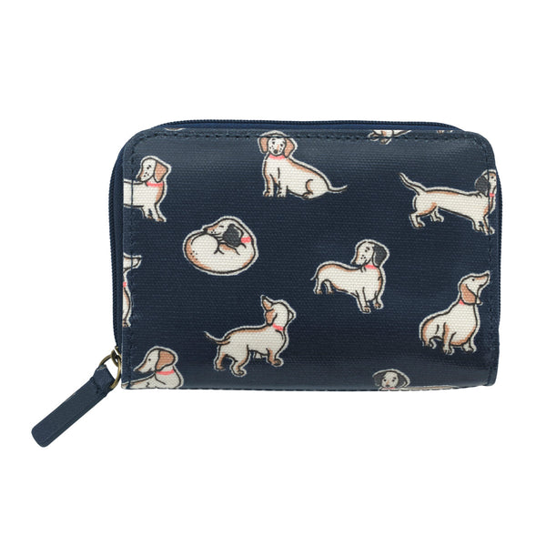 Cath Kidston Mini Mono Dogs Pocket Purse