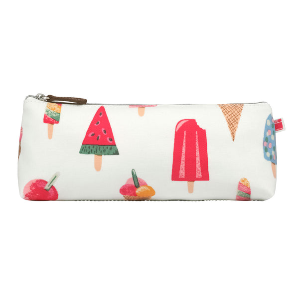 Cath Kidston Ice Cream Trapeze Pencil Case at Wysteria Lane