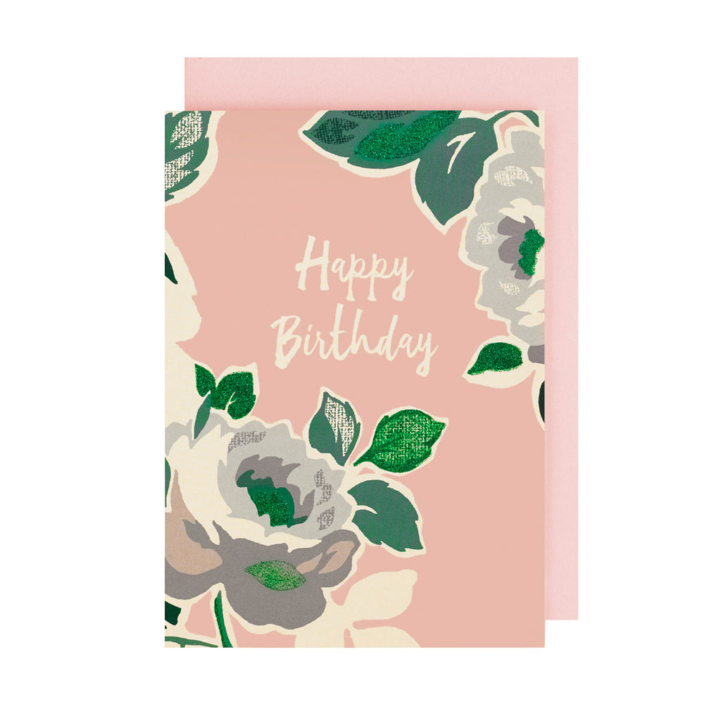 Buy Cath Kidston Online Paper Rose Happy Birthday Greetings Card 759090