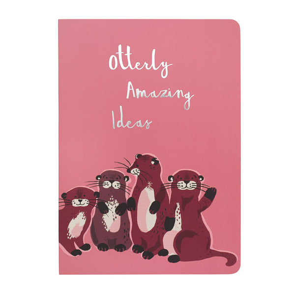 Cath Kidston Otters A5 Softback Notepad | Wysteria Lane Boutique