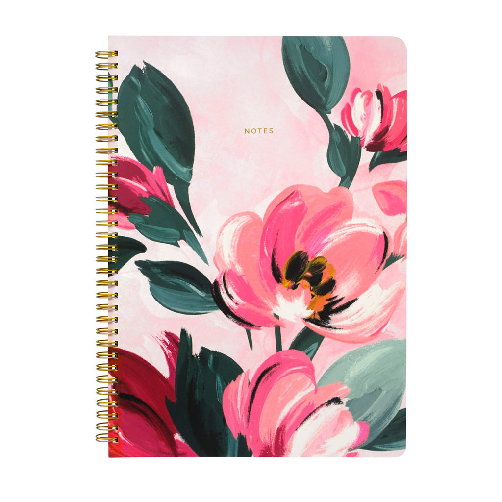 Cath Kidston Large Paintbox Flowers A4 Spiral Notepad | Wysteria Lane