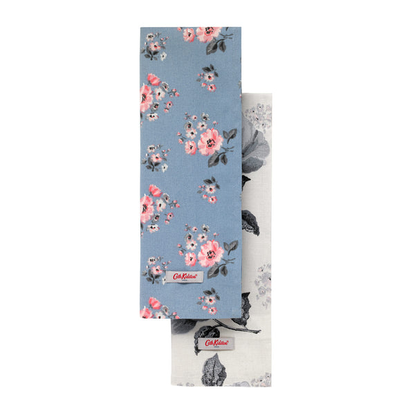 Cath Kidston Grove Bunch Tea Towel Set Of Two | Wysteria Lane
