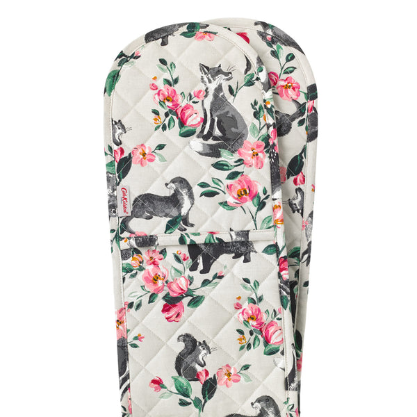 Cath Kidston Badger & Friends Double Oven Glove | Wysteria Lane