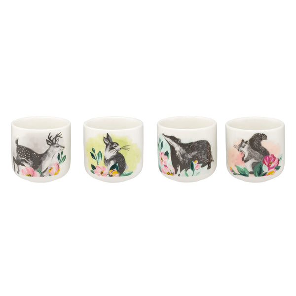 Cath Kidston Set Of Four Animal Egg Cups