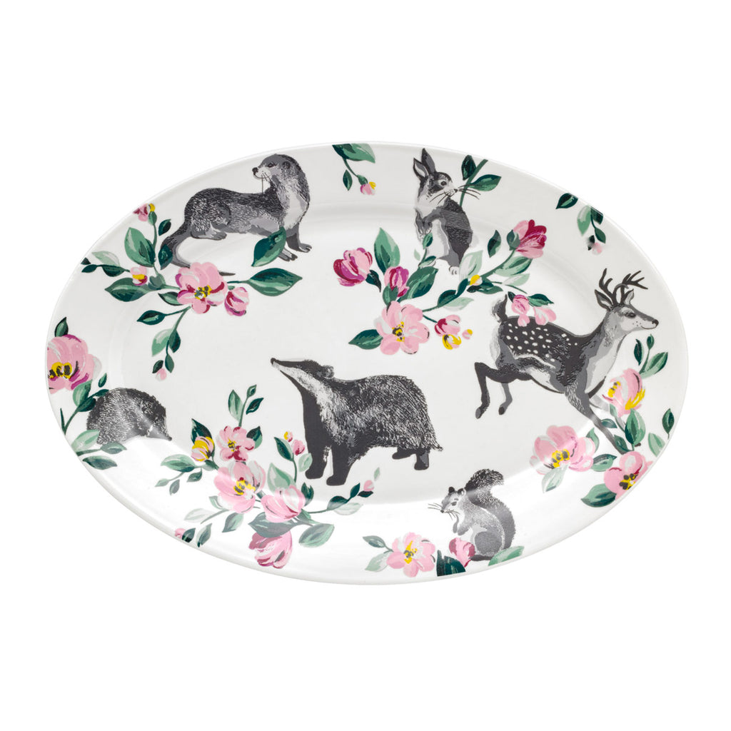 Cath Kidston Badger & Friends Serving Plate | Wysteria Lane