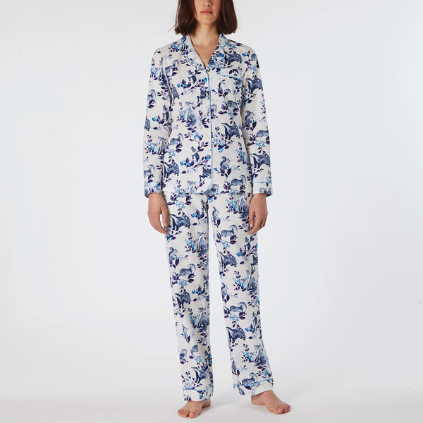 Cath Kidston Badger & Friends Cotton Lawn PJ Set | Wysteria Lane