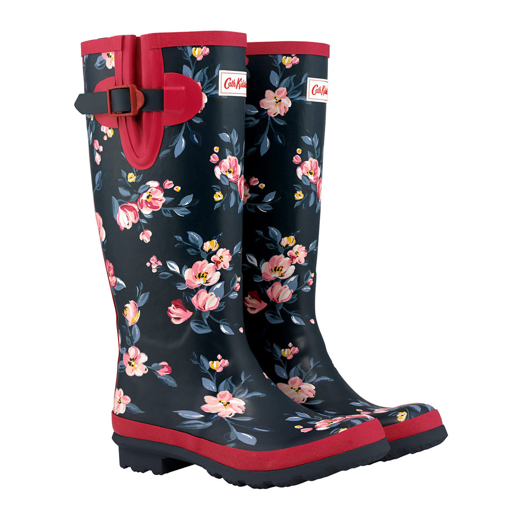 Cath Kidston Paintbox Flowers Printed Wellington Boot | Wysteria Lane