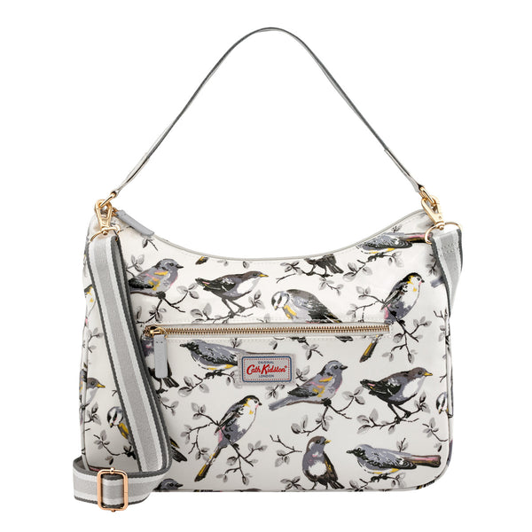 Cath Kidston Garden Birds Curve Shoulder Bag | Wysteria Lane