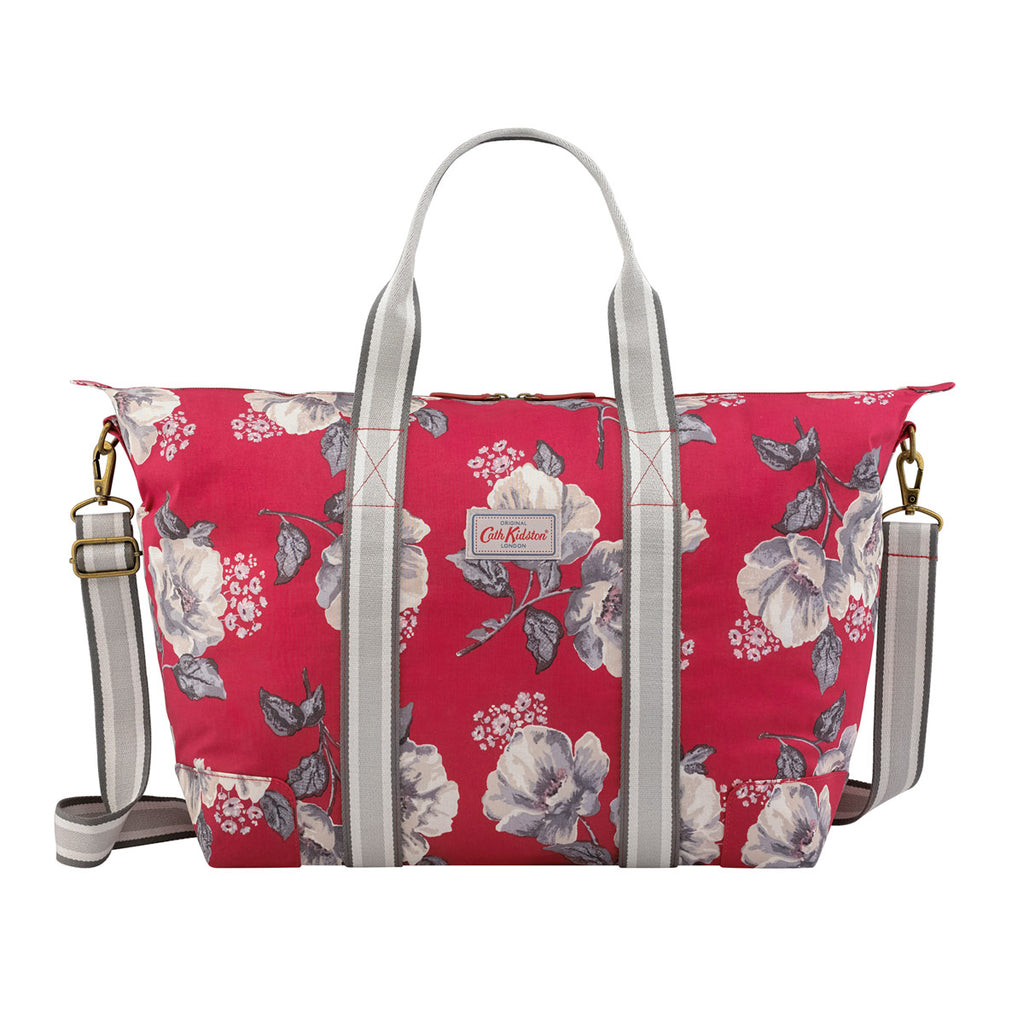 Cath Kidston Wild Poppies Foldaway Overnight Bag